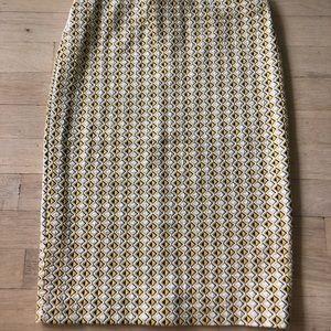 Zara Textured MIDI Skirt